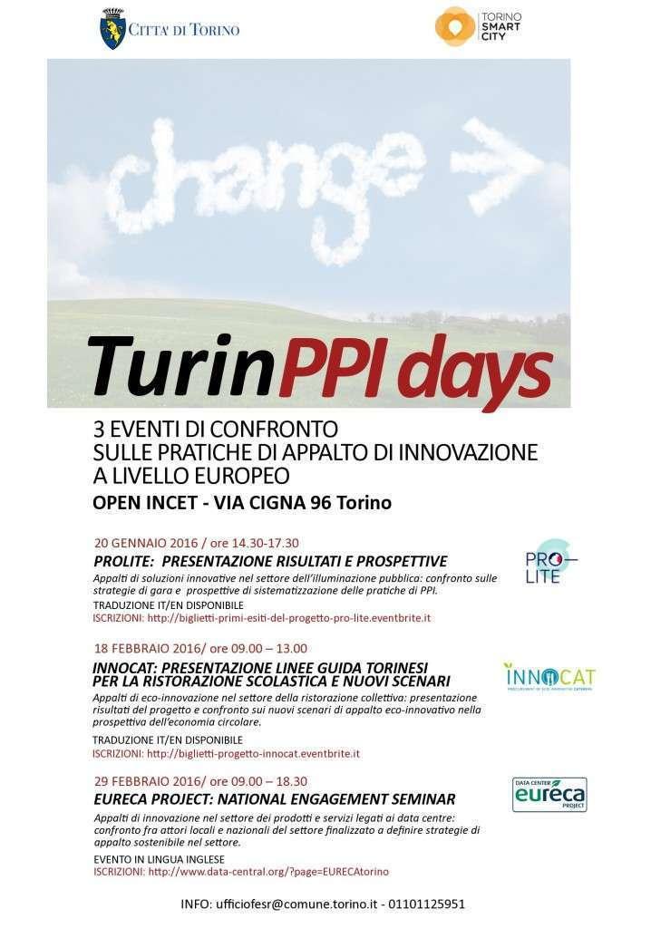 Locandina Turin PPI Days